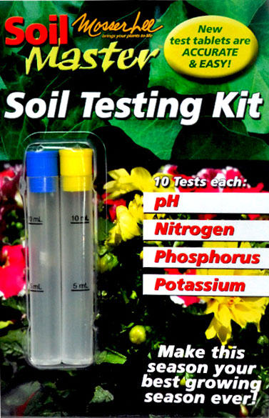 Soil Master soil testing retail package.